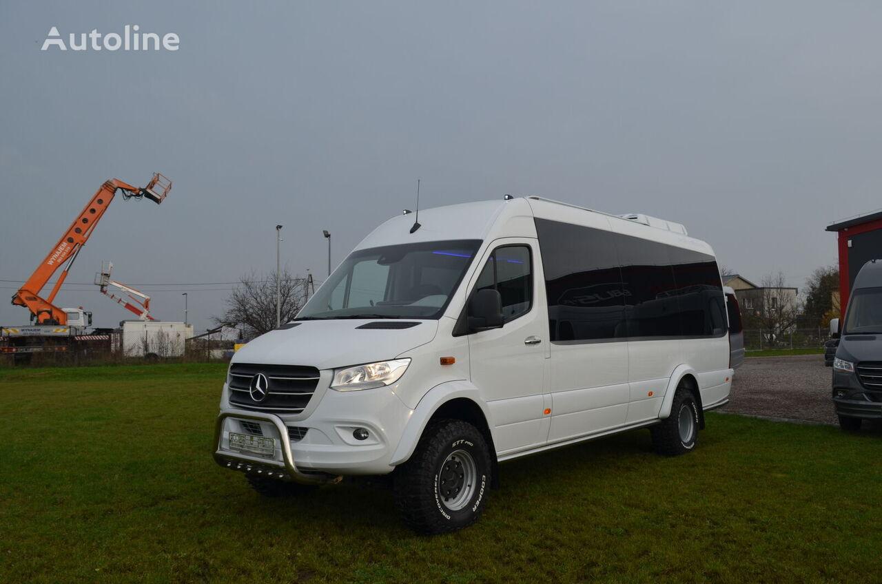 новий пасажирський мікроавтобус MERCEDES-BENZ Sprinter 519 4x4 high and low drive