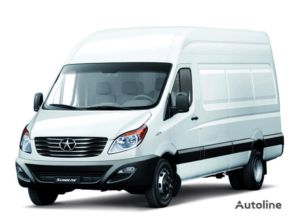 новий вантажно-пасажирський мікроавтобус Цельнометаллический микроавтобус JAC Sanray