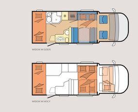 новий будинок на колесах HOBBY OPTIMA ONTOUR T65  HKM