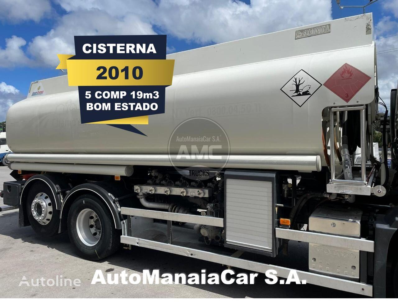цистерна ПММ CISTERNA DE ALUMÍNIO DE 19m3 5 COMP VOLVO