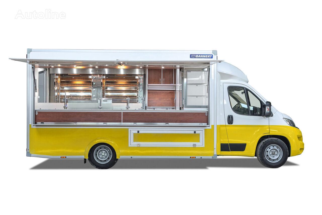 нова торговельна вантажівка < 3.5т BANNERT FOOD TRUCK Imbiss Handlowy Kurczak