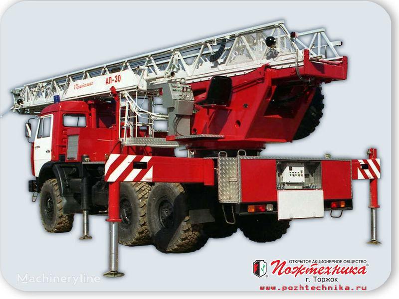 нова пожежна автодрабина КАМАЗ АЛ-30