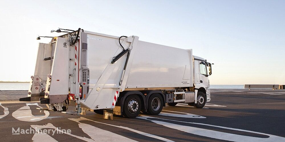 новий сміттєвоз MAN TGS 26.320