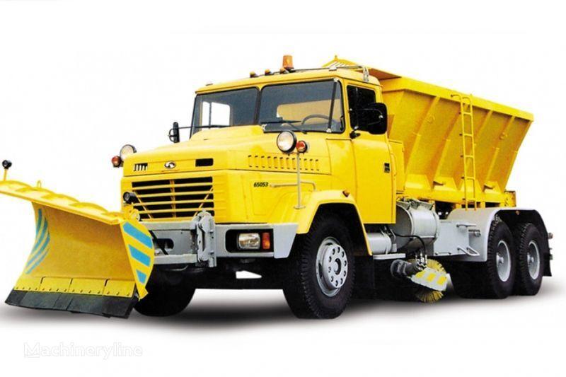 нова снігоприбиральна машина КРАЗ 65053 КДМ-1522/1521