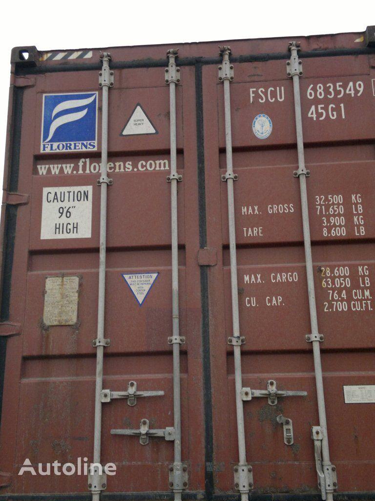 контейнер 40 футів морские