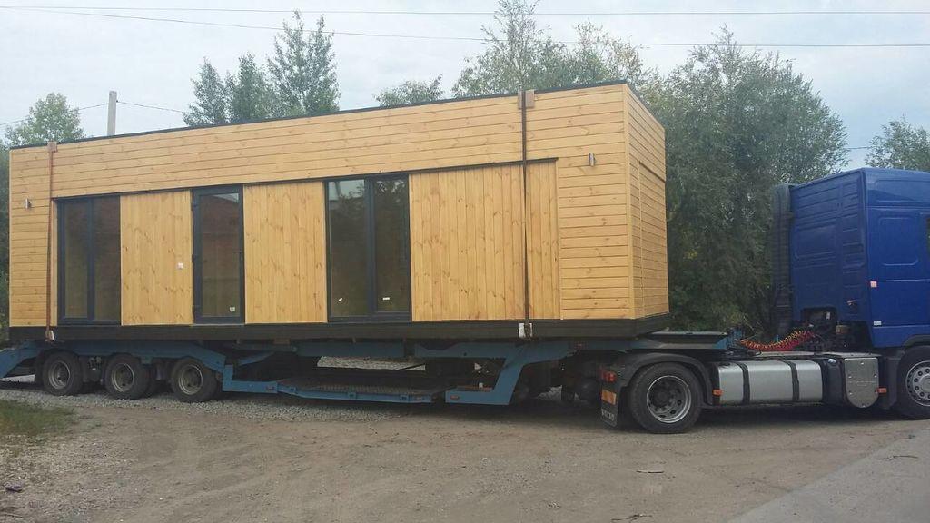 новий мобільний будинок HOME-CAR