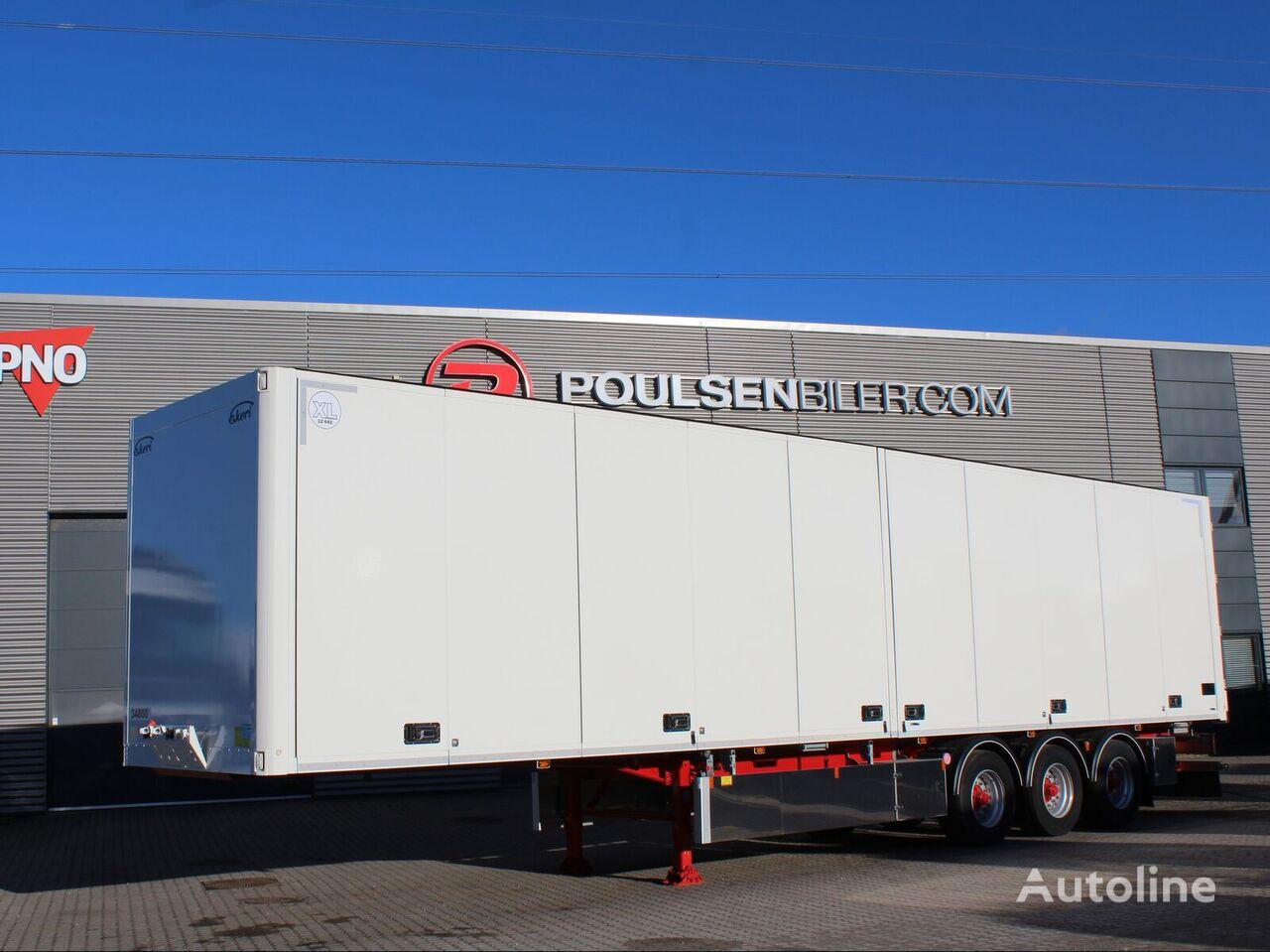 новий напівпричіп фургон EKERI