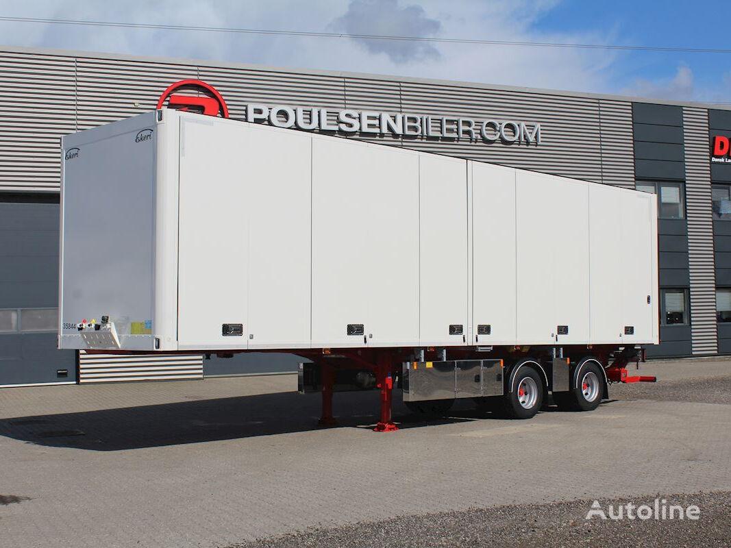 новий напівпричіп фургон EKERI 2-aks 27-pallers åbningsbar side