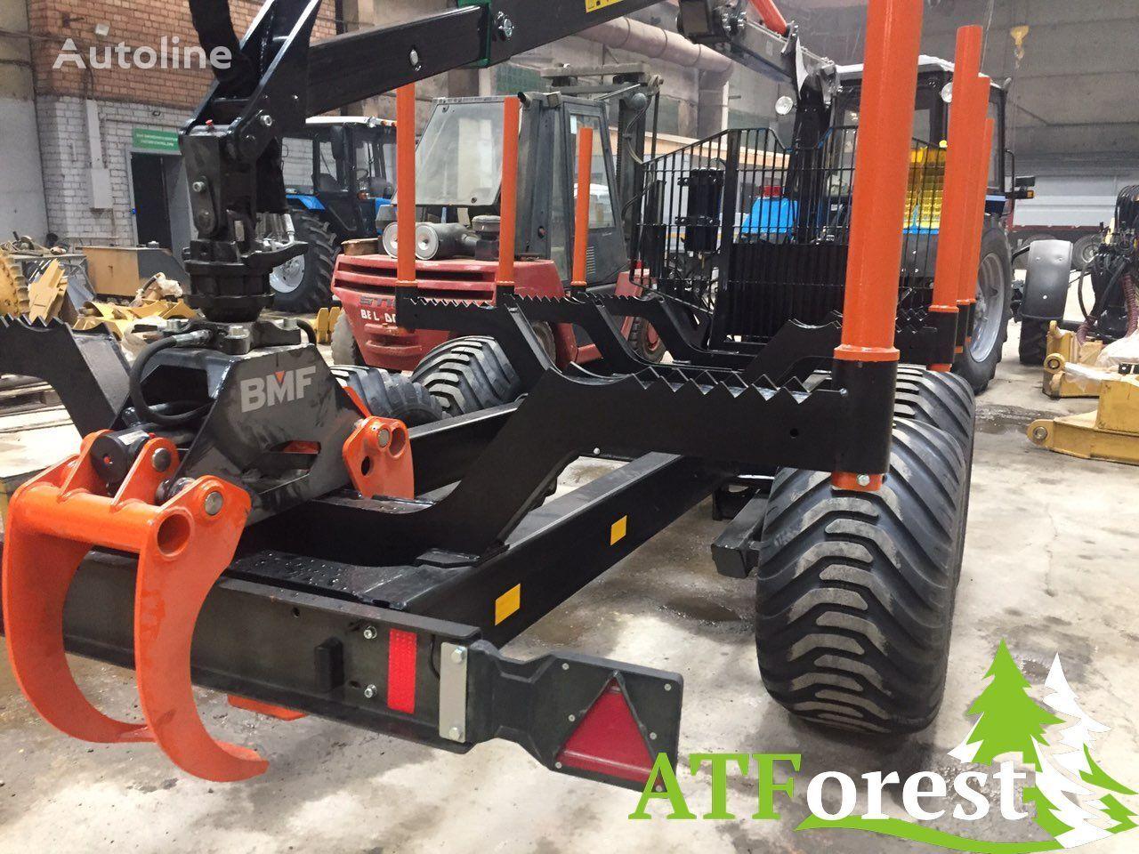 новий напівпричіп лісовоз ATFV 12/750