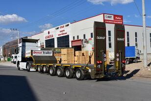 новий напівпричіп низькорамна платформа DONAT 6 axle heavy duty lowbed semitrailer