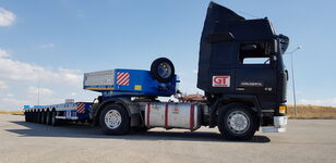 новий напівпричіп низькорамна платформа GÜRLEŞENYIL  hydraulic low loader
