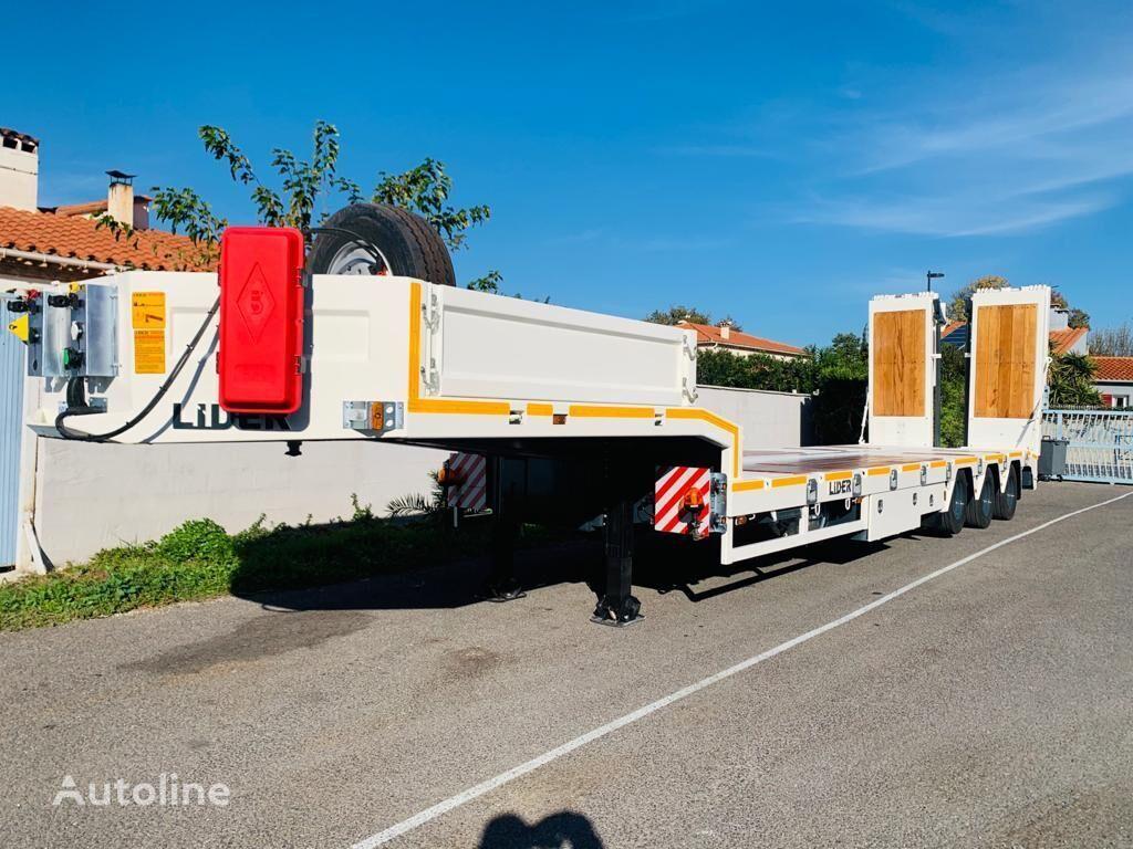 новий напівпричіп низькорамна платформа LIDER trailer Non Spécifié