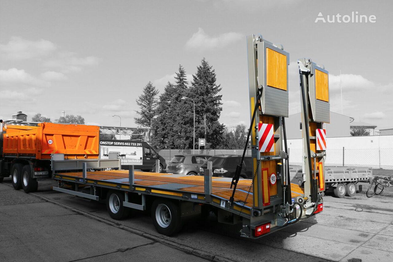 новий напівпричіп низькорамна платформа ZRUST ZPT 21