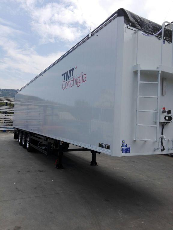 новий напівпричіп з рухомою підлогою T.M.T. COSTRUZIONI Conchiglia 38A2