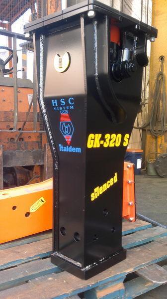 новий гідромолот ITALDEM GK 320S