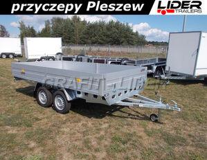 новий бортовий причіп RYDWAN RD-015 przyczepa 350x195x35cm, Euro C750 / H5, lekka, niehamowan