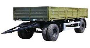 новий бортовий причіп КАМАЗ СЗАП-8355