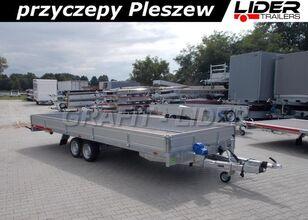 новий бортовий причіп TEMARED TM-171 przyczepa 588x211x30cm, Carplatform 6021S, laweta, platfo