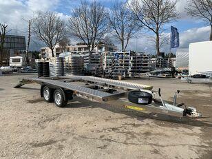 новий причіп автовоз KUBIX GALA aluminum twin-axle car hauler, dovetail, 450×200, wheels 18