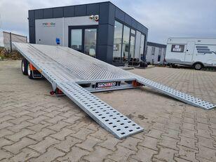 новий причіп автовоз LOHR GRAVITY M400 + BL Plattformanhänger mit zGM KIPPBAR