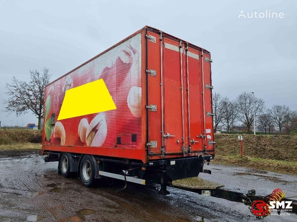 причіп фургон CONTAR Aanhangwagen box/closed frontdoors
