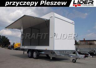 новий причіп фургон LIDER trailers TP-059 przyczepa 420x200x210cm, kontener, furgon izolow