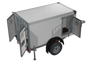 новий причіп фургон ИСТОК 3791M1
