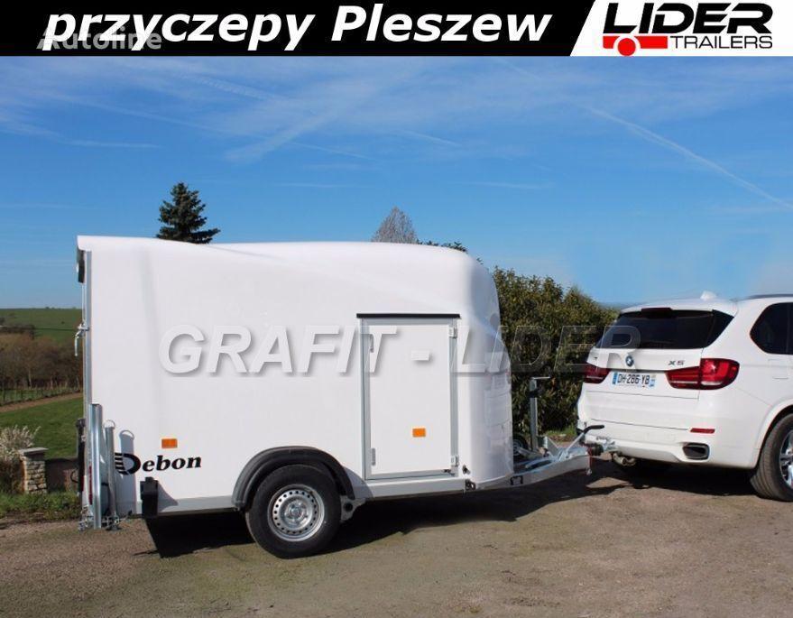 новий причіп коневоз CHEVAL LIBERTE Kontener, Furgon, Cargo 1300.02 do przewozu motocykli, bagaży 30