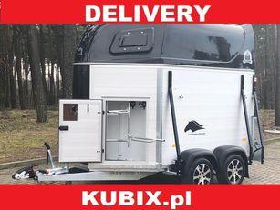 новий причіп коневоз KUBIX Mustang Strong ALU