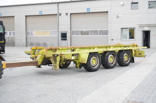 причіп контейнеровоз KRONE Truckmate 3 axles , Roll-of tipper , 7m