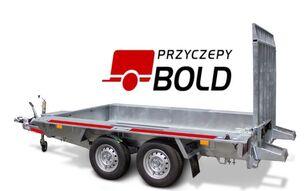 новий причіп низькорамна платформа TEMARED BUILDER 3 3015