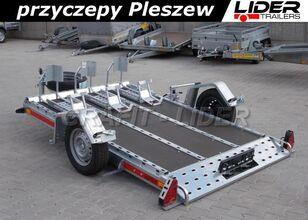 новий причіп платформа TEMARED TM-132 przyczepa 261x161cm, do przewozu motocykli, quadów, rower