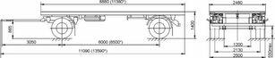 новий причіп шасі МАЗ 892600-1027-000Р1