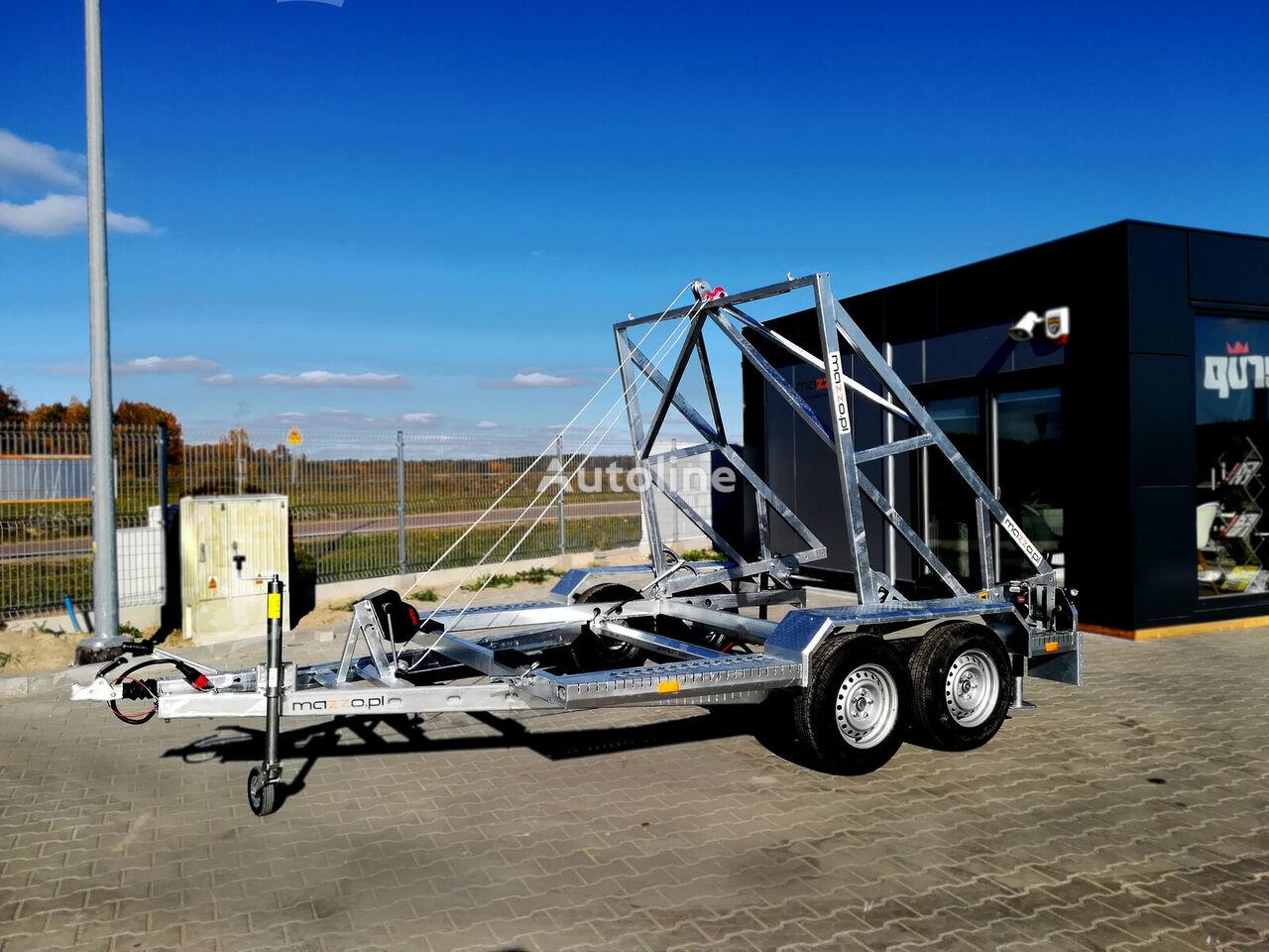 новий причіп шасі STRONG Cabel drum trailer 3500kg Kabeltrommel