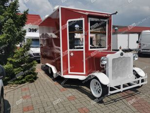 новий торговий причіп BODEX przyczepa handlowa, mobilna gastronomia, Verkaufsanhänger, Cater
