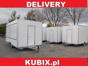 новий торговий причіп KUBIX H25522HT Niewiadów two-axle commercial trailer