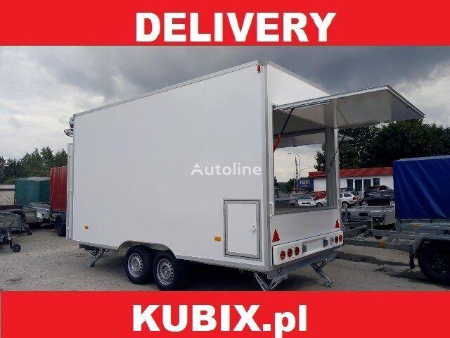новий торговий причіп NIEWIADOW H20361HT, Catering trailer, Verkaufsanhänger 360x203x230, 2000kg