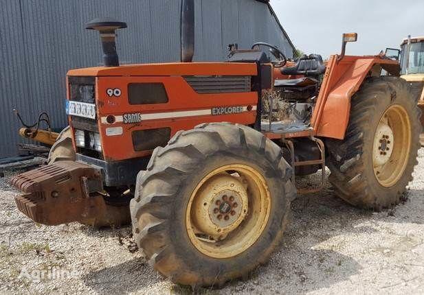 колісний трактор SAME  Explorer 90 para recuperação