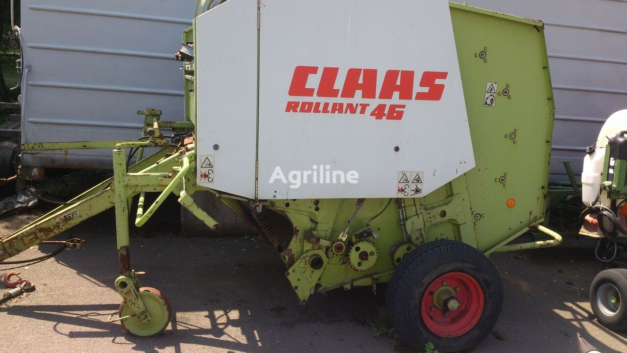 прес-підбирач рулонний CLAAS Rollant 46
