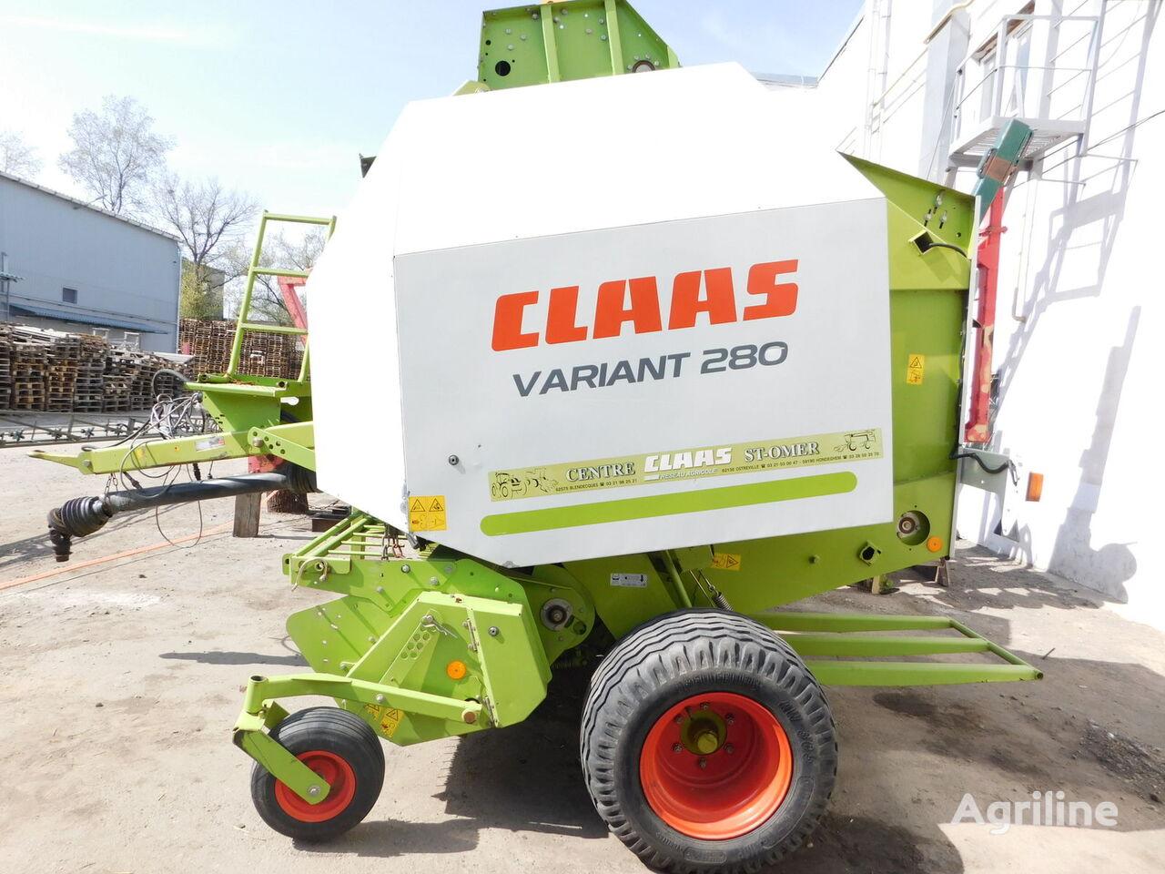прес-підбирач рулонний CLAAS Variant 280