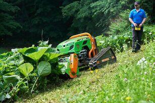 новий трактор-газонокосарка Green Climber LV300 pro