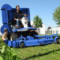 трактор-газонокосарка ISEKI SF310