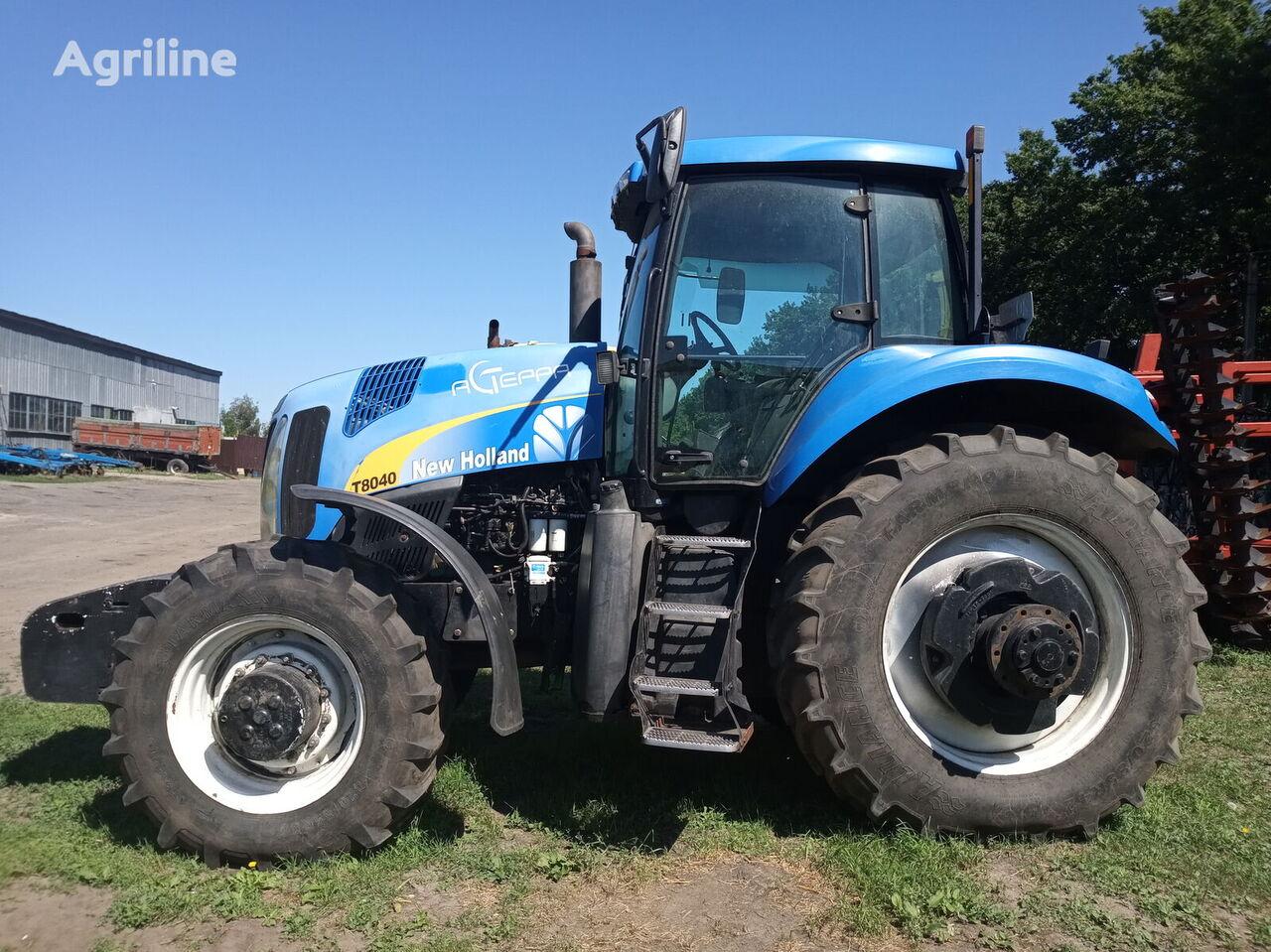 трактор колісний NEW HOLLAND T 8040