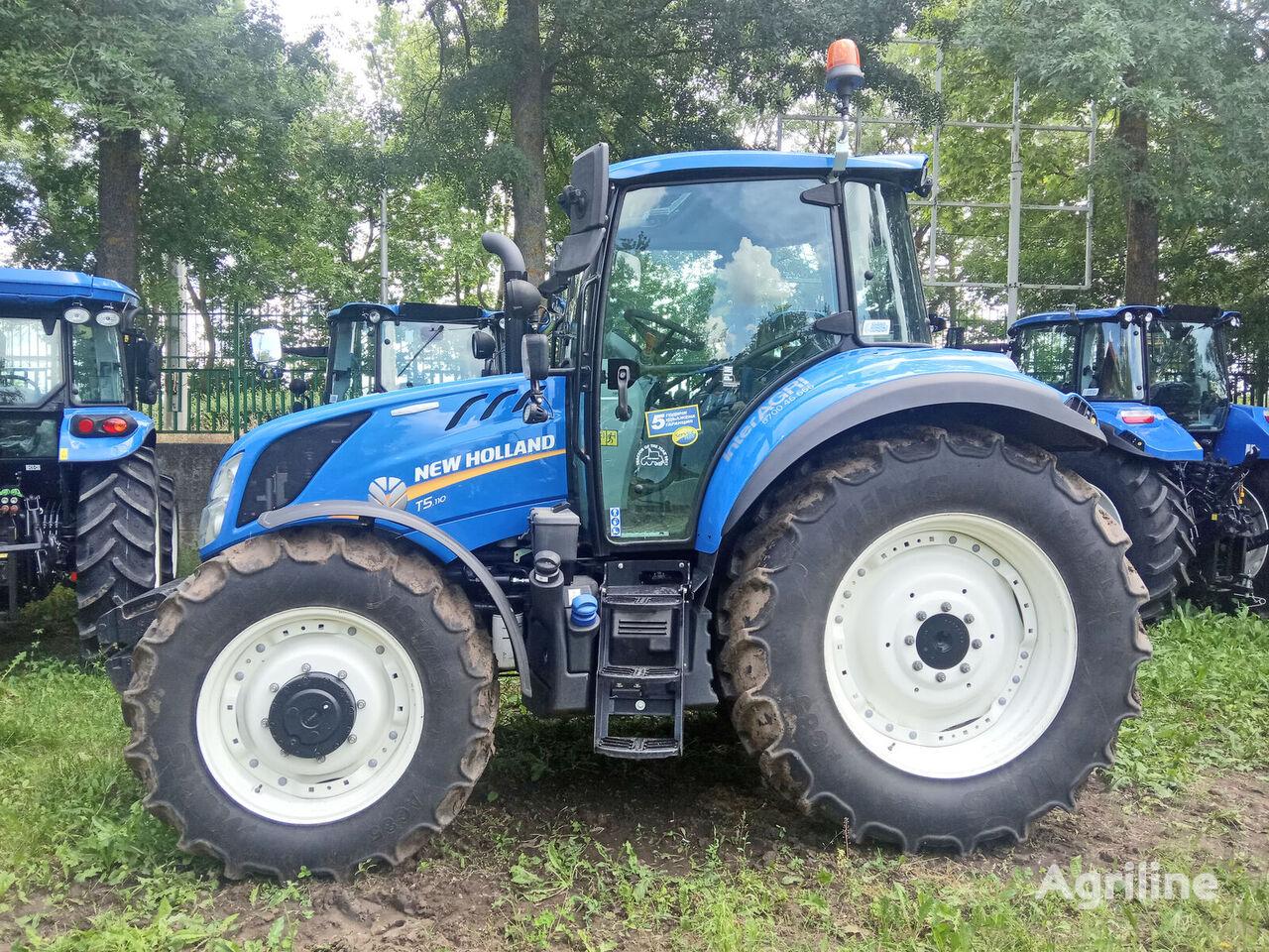 трактор колісний NEW HOLLAND T5.110 EC T4B TMR
