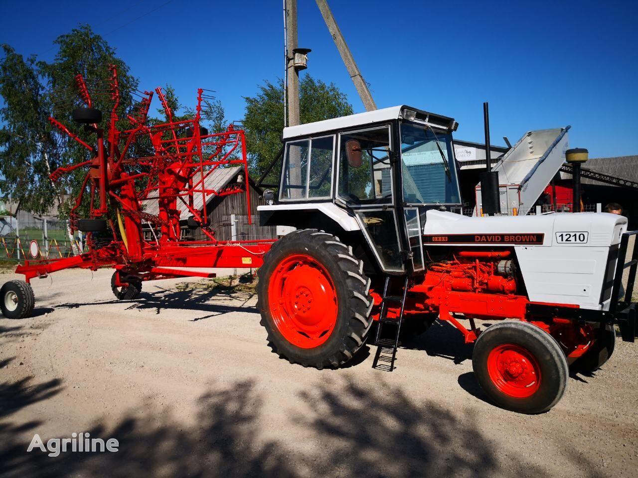трактор колісний DAVID BROWN 1210