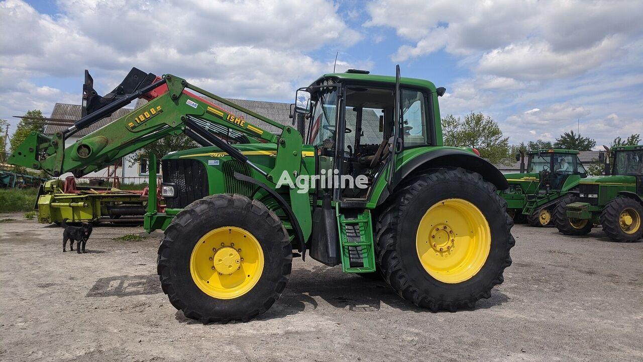 трактор колісний JOHN DEERE 6920 з навантажувачем