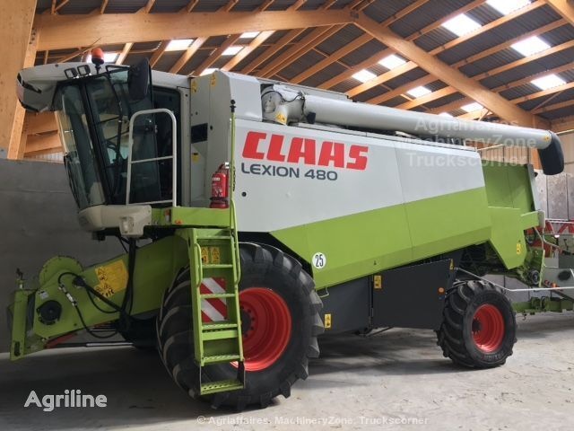 зернозбиральний комбайн CLAAS Lexion 480