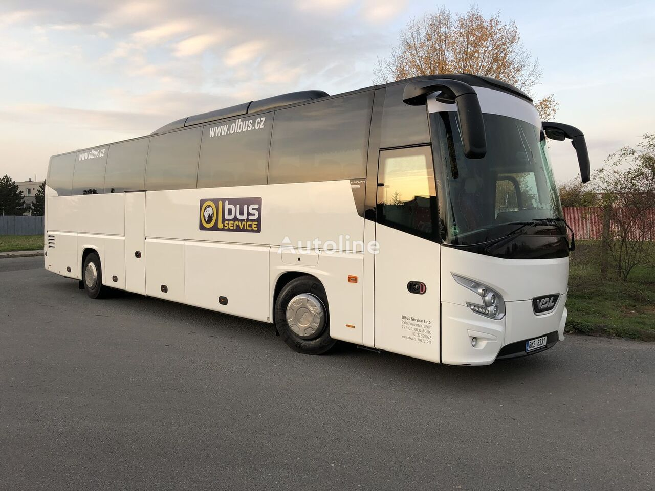 туристичний автобус VDL FUTURA FHD2 129.365