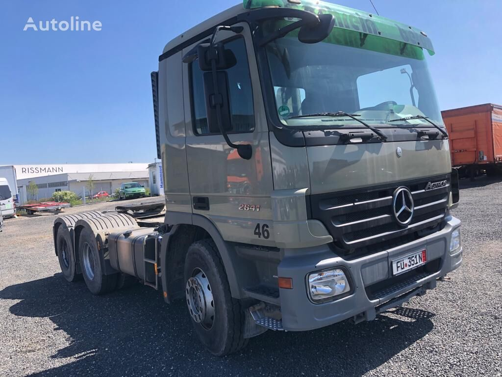 тягач MERCEDES-BENZ Actros 6x4 2641 Euro 5 import Germania