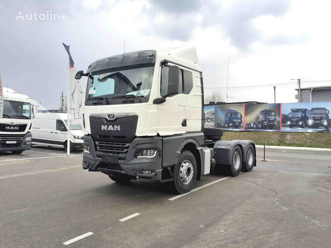новий тягач MAN TGX 33.480 6x4 BL SA, лизинг, кредит, гарантия